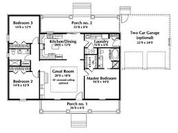 This Floor Plan Example Depicts A Cape Style House Ranch House    ranch house plan ranch house plan first floor d house plans and more simple