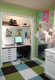 create a functional home office from a closet freshomecom a home office