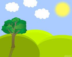spring landscape vector backgrounds for powerpoint nature spring landscape vector