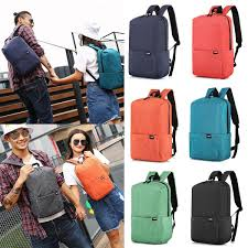 New Fashion Unisex Solid Backpack Bag for Daily and Travel Use ...