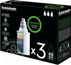 Комплект <b>кассет Барьер Жесткость</b> фильтрующих <b>сменных</b> 3шт