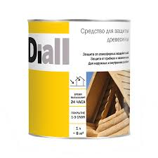 <b>Средство для защиты</b> древесины Diall, тик, 1 л - купите по ...