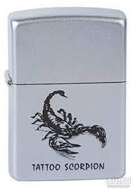 <b>Зажигалка Zippo 205</b> Tattoo <b>Scorpion</b> Zippo — купить в ...
