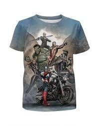 """Детские футболки c качественными принтами """"мотоцикл"""" - <b>Printio</b>"""