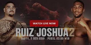 Anthony Joshua vs Andy Ruiz 2 Reddit Live Stream Boxing Dec. 7 ...