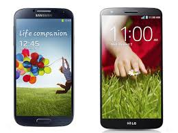 Galaxy S4 vs LG G2 review | flagship smartphone comparison ...