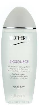 <b>Biotherm Biosource</b> Eau Micellaire - Очищающий и <b>тонизирующий</b> ...