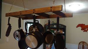 pot rack kitchen island unbox assembly how to make a hanging pot and pan rack