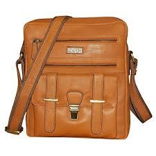 Kan 100% <b>Genuine Leather</b> Crossbody Sling Bag||<b>Messenger Bag</b> ...