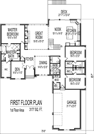 Bedroom House Designs and Floor Plans   Car Garage StoryStone SF Architect Home Plan Design storey Bed Bath Basement Car