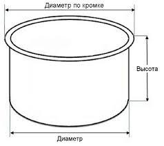 Каталог Кастрюли (чаши) для <b>мультиварок</b> технического центра ...