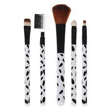 <b>Набор кистей</b> для макияжа <b>5шт</b>, пластик, синтетич.нейлон, 16см ...