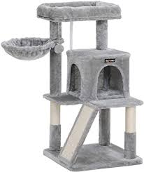 FEANDREA Cat Tree with Sisal-Covered Scratching ... - Amazon.com