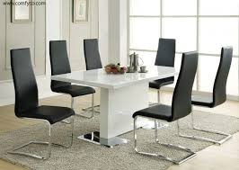 modern tempered glass dining table designs attractive modern glass dining tables toronto tennsat