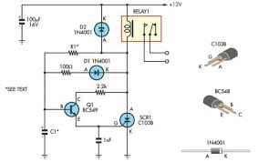 handy time delay relay output eeweb community time delay circuit diagram relay output