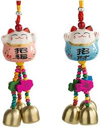 IMIKEYA 2pcs Car Hanging Ornaments Ceramic ... - Amazon.com