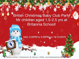 Baby <b>club</b> in English <b>Christmas party</b> - Britannia School