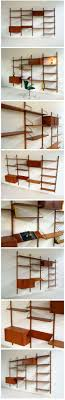 danish modern teak floating wall unit designed by poul cadovius for royal system cado modern furniture 101