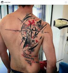 Like tatoo | <b>Trash polka</b> tattoo designs, Tattoos for guys, Compass ...
