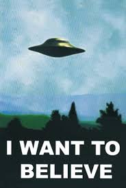 aliens, UFOs, X-Files, poster, Fox Mulder
