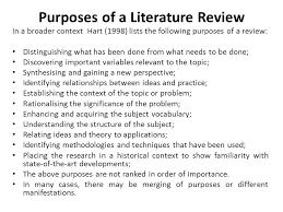 LITERATURE REVIEW     A GENERAL GUIDE     MAIN SOURCE     HART  C     e LiS   rclis