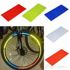 <b>Fluorescent Tape</b> in Bicycle Stickers & Decals for sale | eBay