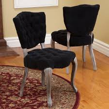 Fabric Chairs Dining Room Black Fabric Dining Room Chairs At Alemce Home Interior Design
