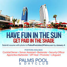 palms pool dayclub casting call