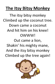 best ideas about letter e activities letter itty bitty rhyme the itsy bitsy monkey