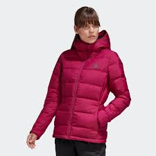 <b>adidas</b> Куртка-пуховик Helionic - Бордовый | <b>adidas</b> Россия