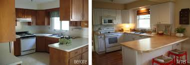 Small Kitchen Makeovers Small Kitchen Remodel Ideas Before And After