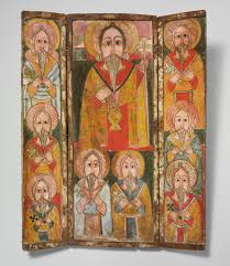 african christianity in essay heilbrunn timeline of icon triptych ewost atéwos and eight of his disciples