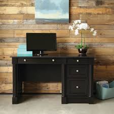 Computer Desk Cabinet Office Elegant Computer Desk Brown Wooden Cabinet Stylish Home