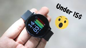 A 15$ Fitness <b>Watch</b> with Premium Looks | Crazy stuff!! - YouTube