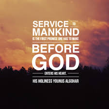 service to man is service to god a short paragraph essay for service