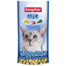 <b>Лакомство</b> для кошек <b>Beaphar</b> Happy Rolls <b>Mix</b> — купить по ...