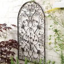 designs outdoor wall art: outdoor wall art metal wrought iron wall art for the garden