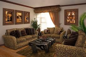 furniture with exquisite animal prints african themed furniture