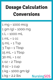 best ideas about being a nurse nurse stuff ems dosage calculation conversions you need to know in nursing school click through to get this