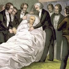 The Death of Representative <b>John Quincy Adams</b> of Massachusetts ...