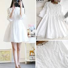 Ready Stock Dresses <b>Women Clothing</b> Long Sleeve Korean Black ...