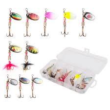 <b>10pcs</b>/<b>lot fishing spoon</b> lures spinner bait 2.5-4g – LUSHAZER ...