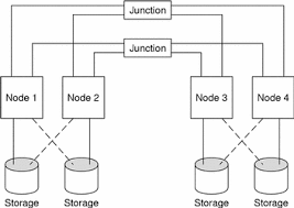 <b>Sun</b> Cluster Topologies (<b>Sun</b> Cluster 3.0 Concepts)
