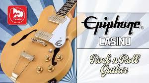<b>Полуакустическая гитара EPIPHONE</b> CASINO - YouTube