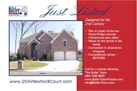 just listed just postcard templates real estate just listed just postcard templates
