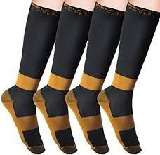 MELERIO Copper Compression Socks for Men ... - Amazon.com