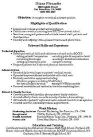executive resume example help you to write a professional resume ... Medical Receptionist Resume With No Experience - http://www.resumecareer.info