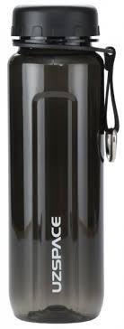 Купить <b>Бутылка</b> для воды с сеточкой <b>UZSPACE</b> тритан 500мл цв ...