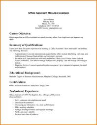 resume for administrative assistant example sample resume for office assistant resume example a office assistant resume example administrative assistant resume template microsoft administrative assistant