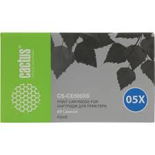 <b>Картридж Cactus CS</b>-CE505XS Черный (Black) — купить, цена и ...